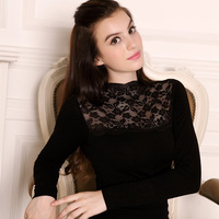 2013 winter New Lace sexy seamless body shaping beauty care set thick thermal underwear long johns