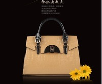 Free Shipping Sale Fashion Style Women Handbag Genuine Leather High Qualitycross-Body Khaki Blue Handbags