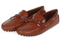 New 2014 solid slip-on ligh men sneakers genuine leather casual men flats comfortable suede zapatos de los hombres