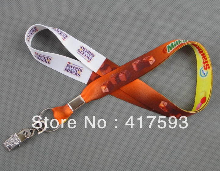 custom Lanyards vendor Sells custom badge lanyards100pcs/lot custom printed 15mm*90cm Mobile Phone Straps neck free shipping(China (Mainland))