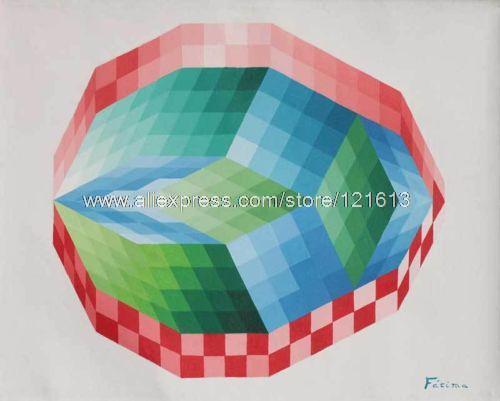 Optische tekeningen promotie winkel voor promoties optische tekeningen op - Decoratie schilderij gang ...