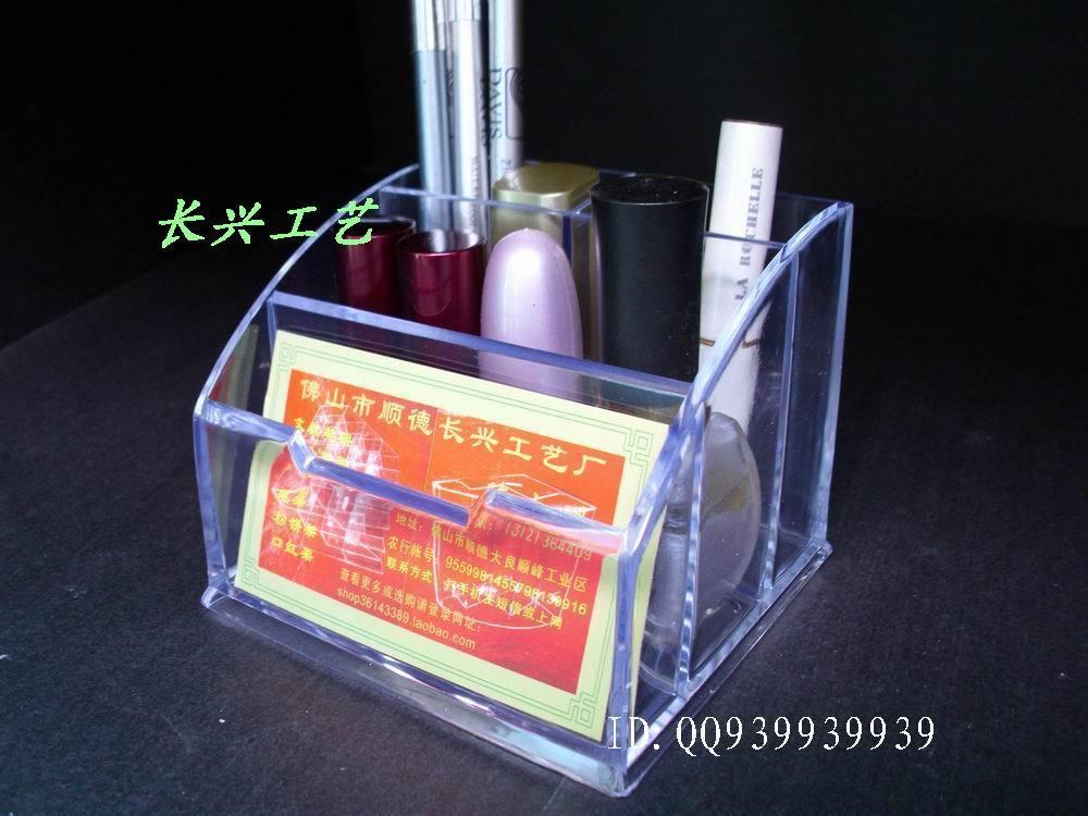 L34 white multi purpose display rack acrylic stationery business card holder plaid shop(China (Mainland))