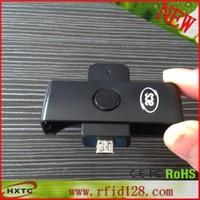 Free Shipping  PC-Linked Mico USB 4MHZ ACR38U-ND PocketMate Smart IC Card Reader