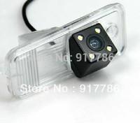 Nightvision Car Rear View Camera With 4 LED HD CCD Camera for Hyundai new Santafe Santa Fe Azera car backup reverse camera