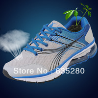 Provdboy 2013 spring and summer men gauze breathable running shoes air cushion sport shoes men