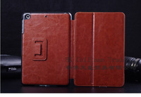 Luxury Fashion 2 Fold Stent Leather Flip Cover Case For Apple Ipad mini 2 + MOQ:30pcs/lot Free dhl Shipping,C0081