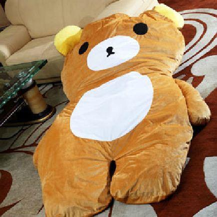 Regalo de la navidad de gran tama o doble colch n tatami colchoneta de oso de dibujos animados - Colchon tatami ...