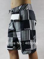 BNWT Fashion Mens Gray Surf Board Shorts 32 30 38 36 34 Bermuda Shorts Men's Polyester Swim Trunks FREE SHIPPING Drop Shipping