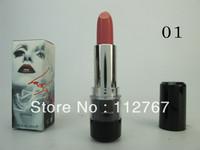 Free shipping HK Post 1pcs Brand name M Lady gaga lipstick 3.8g with logo  make up lispstick high quality 15 color!