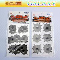 free shipping by china post PVC vinyl bullet holes inordinance car sticker  mini irregular shotholes auto design