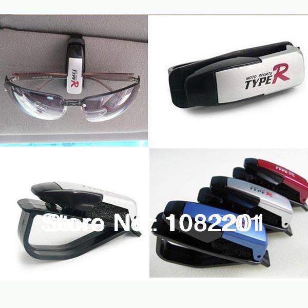 new 2014 Fashion Smart Car Vehicle Sunglasses visor clip Eyeglasses Holder for ford focus 2 3 chevrolet mazda 3 kia volkswagen(China (Mainland))