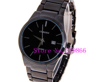 Curren quartz  tungsten steel Vogue Business Military Man Men's watches 3 waterproof Dropship