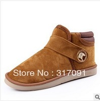 Winter boots 2013 new men boots snow boots han edition of England warm cotton shoes plus cotton and cotton boots