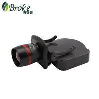 Backpack m9 caplights clip cap lamp hat brim light fishing lamp led night fishing lamp retractable focusers caplights