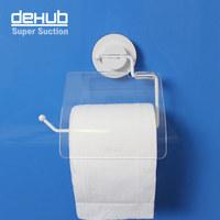 Free shipping Vacuum suction cup Super sucker waterproof toilet paper holder Korean  DeHUB roll holder tissue box