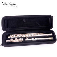 Omebaige quality flute musical instrument bag musical instrument box single shoulder bag waterproof
