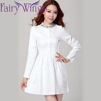 Plus size XXL XXXL beading elegant mini dress cute casual dresses for women new fashion 2014 autumn winter black white PH0408