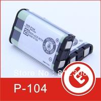 Wholesale 200pcs HHR-P104 NI-MH 3.6V Cordless Phone Battery 850mAh rechargeable battery for Panasonic