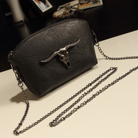 autumn candy color plaid chain vintage bag mini bag one shoulder cross-body women's handbag bag