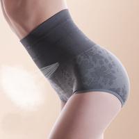 Thin waist seamless high waist shorts breathable basic women's beauty care body shaping abdomen butt-lifting drawing
