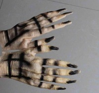 FREE SHIPPING!!!Terrorist lifelike tricky gloves,devil gloves , wacky toy