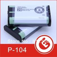 Wholesale 500pcs NI-MH 3.6V 900mAh for Panasonic HHR-P104 Home New rechargeable Cordless Phone battery