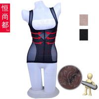 free shipping Ultra-thin seamless gauze slim waist dinner pad beauty care shaper vest abdomen drawing slimming shapewear