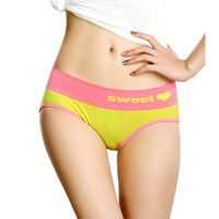 Summer fashion comfortable beauty care sexy close-fitting abdomen butt-lifting drawing women's seamless panties red