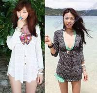 Bh015 slim mini swimwear small beach wear bikini all-match mantillas swimwear outerwear  biquini for women bikini 2014 new