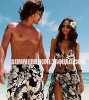 Summer lovers 1112 hot spring swimwear wire bikini small skirt style swimsuit split  biquini for women bikini 2014 new