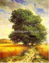 Ручной работы импрессионистов пейзаж дерево пейзажной живописи YU609