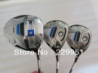 SLDR gof  Wood Set driver 10.5/9.5 loft regular flex+SLDR fairway woods 3# 5#,total 3pcs/lot