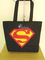 Super man sex print shoulder bag nappy bag large capacity bag print casual