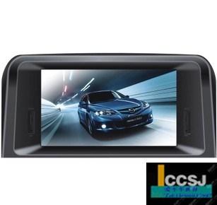 Mazda 6 teleran split air conditioner car dvd 8 large screen gps ,Free shipping(China (Mainland))