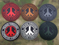 PVC armbands tactical morale armbands super fire bring peace Tactical armbands, military badges
