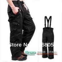 Free Shipping 2014 winter new fashion men's pants High Quality Outdoor Double Layer Sports wear Skiing trousers