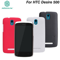 NILLKIN super frosted shield case for HTC Desire 500 (506E) With Screen protector + Retailed package.Free shipping