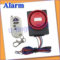 Vibration Detector Sensor anti-theft Alarm for motorcycle and Electric motor car with wireless remote +free shipping