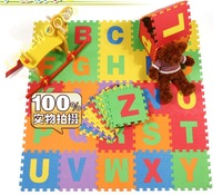 Educational 26 Letters EVA Baby Play mats Baby puzzle Foam mats 30cm*30cm 26pcs/lot for Christmas gift Free shipping