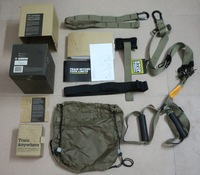 Global  DHL  Free Shipping:training BAND+T3+tactical+Fitness+ rope + chest+rope++LOGO