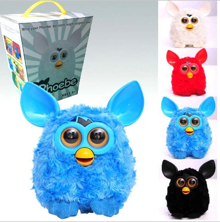 Electronic talking plush pet toys / electric smart Phoebe Elf doll / Intelligence Wizard / children's toys(China (Mainland))