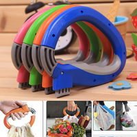 Mentioning dish multi-purpose device bag the handle of the human body