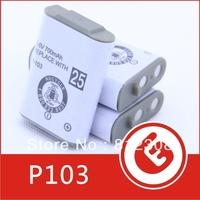 700mAh 3.6V NI-MH Battery HHR-P103 HHR P103 Wholesale 200 pcs Rechargeable Cordless Phone for Panasonic