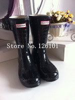 free shipping,2013 Middle Tube rainboots H boots buckle luxury Alligator Patternwomen wellies,rain boots,woman water shoes