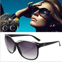 Free shipping 2013 gg3155 sunglasses large vintage sunglasses sun glasses star style anti-uv