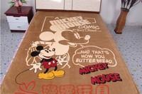 150*200cm mickey mouse blanket baby/Kids/children coral fleece blanket thicken air condition/sofa cartoon blanket