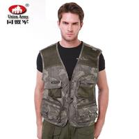 Outdoor Camouflage summer tactical vest fishing vest photography vest net vest