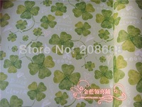BD74 LOGO green clover milk background,GIFT WRAPPING PAPERS 80GSM 50PC/LOT MOQ 1LOT,PAPER PACKAGING,GIFT PAPER WRAP FREE SHIPING