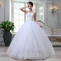 wedding formal dress the bride long design customize plus size bride wedding dress 6584