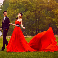 Swithin wedding clothes lovers theme wedding red l283